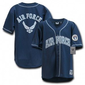 Rapid Dominance R29 Military Baseball Jersey: Navy, Air Force