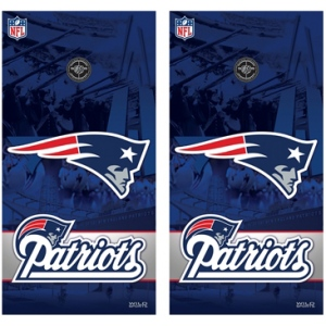 Wild Sports New England Patriots Vinyl Shield
