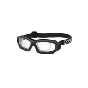 BSG Pro-2000 RX Matte Black Frame: Clear Lens