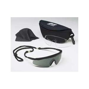 Body Specs® BSG Pistol Black Frame: Smoke Lens